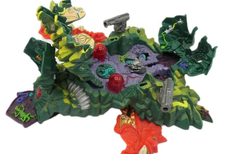 The Mighty Max Dragon Island Toy Playset from Etsy.