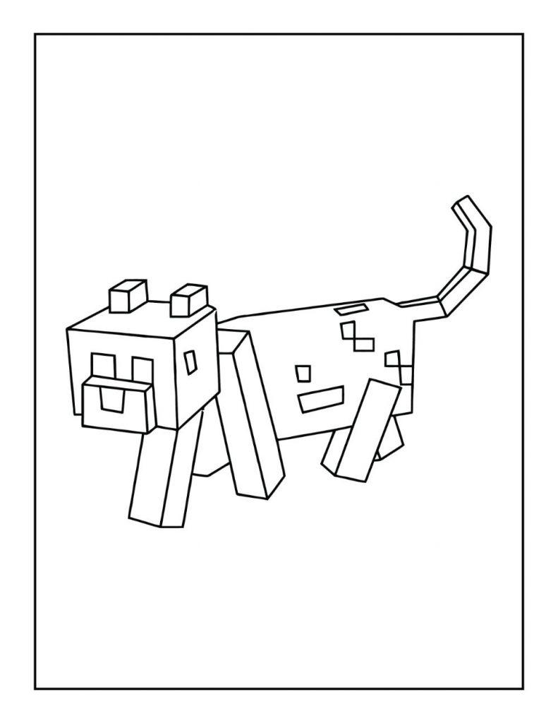 Minecraft Dog / Tamed Wolf