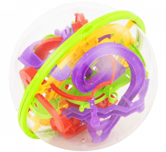 This is the Impossiball puzzle toy from ToysRUs.