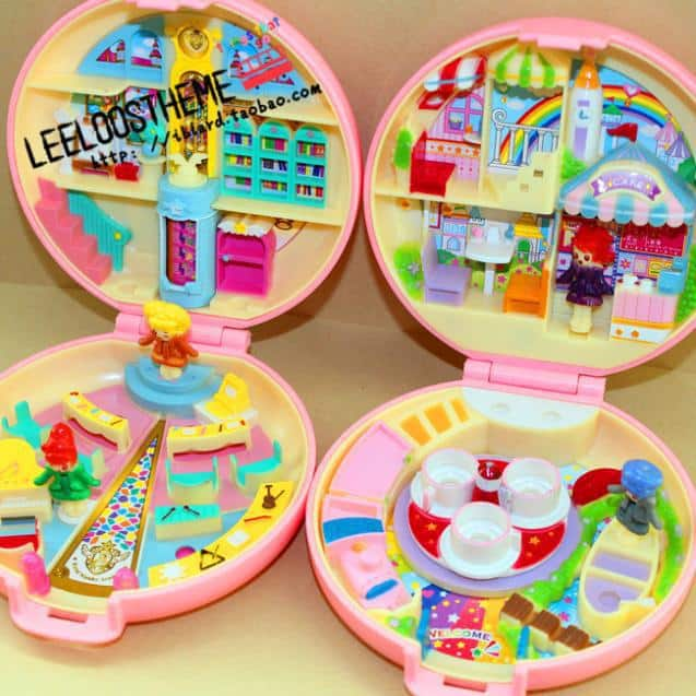 The Gemini Babel toys that look like Polly Pockets from Trendy Gifts.