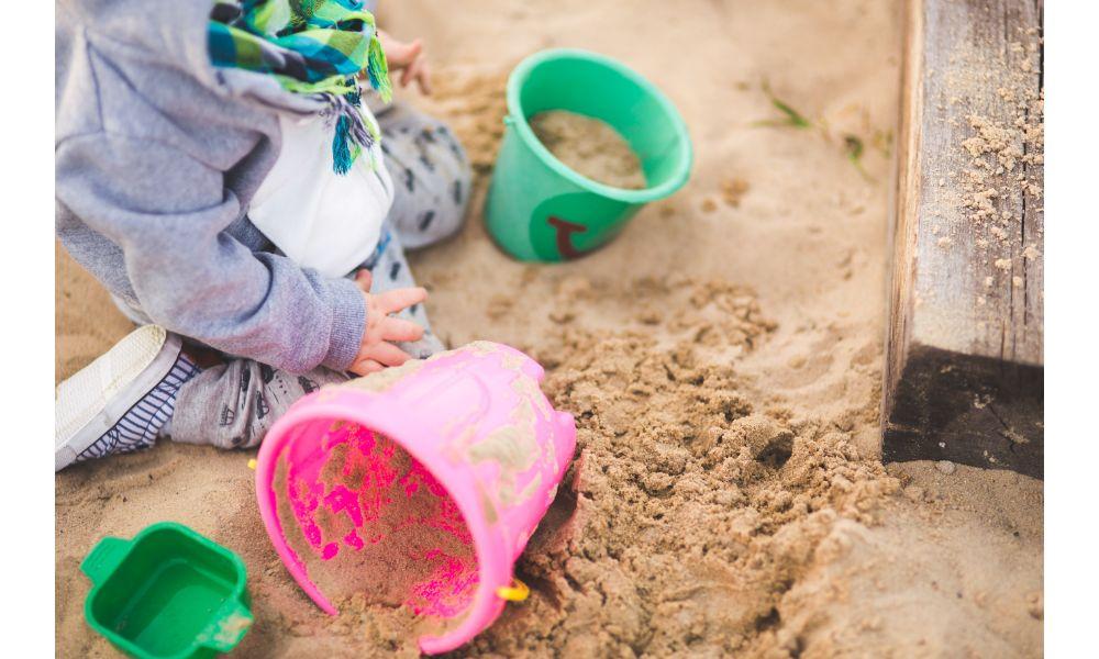 Sand Buckets.