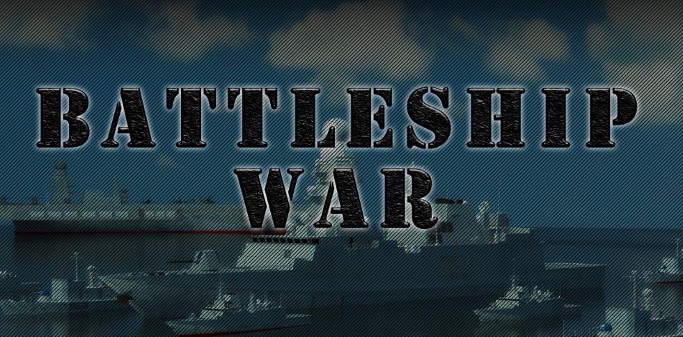 Battleship War Strategy Game