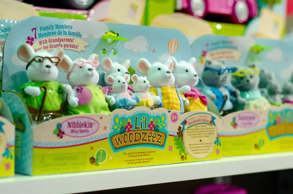Lil Woodzeez toys in store.
