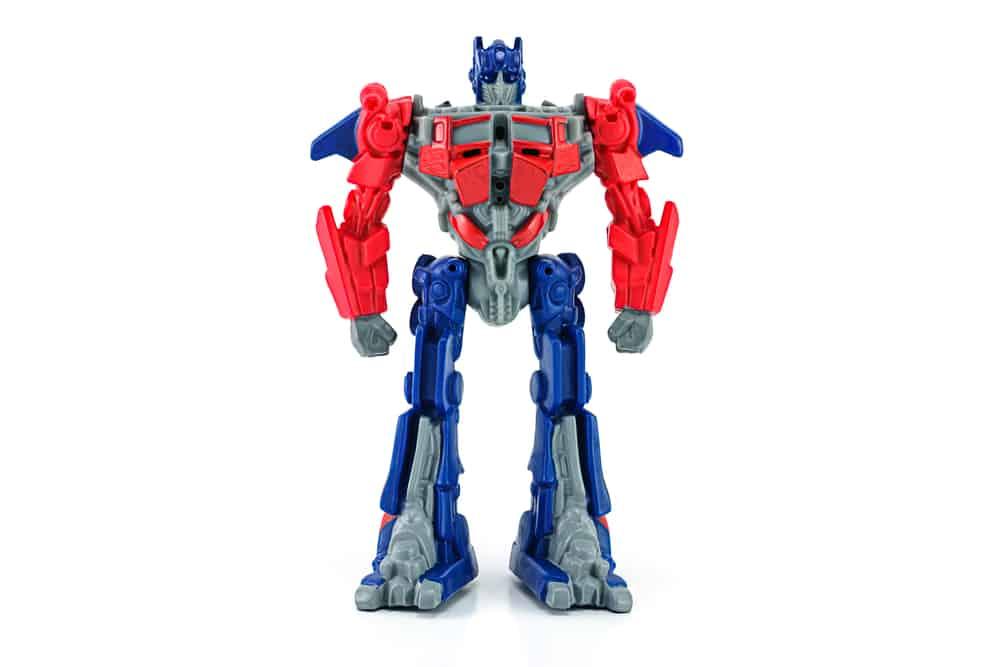 Optimus Prime toy figure