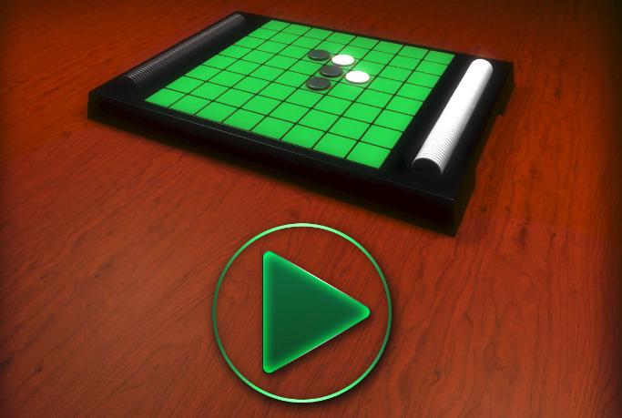 Reversi Puzzle Game