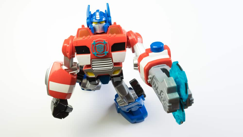 Playskool Optimus Prime rescue bot