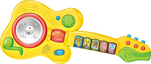 The musical guitar toy from Think Gizmos.