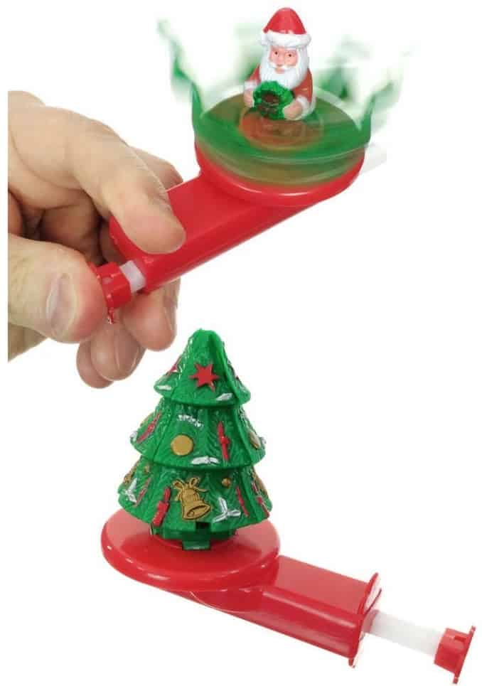 The Santa in Spinner toy from Tin Toy Arcade.