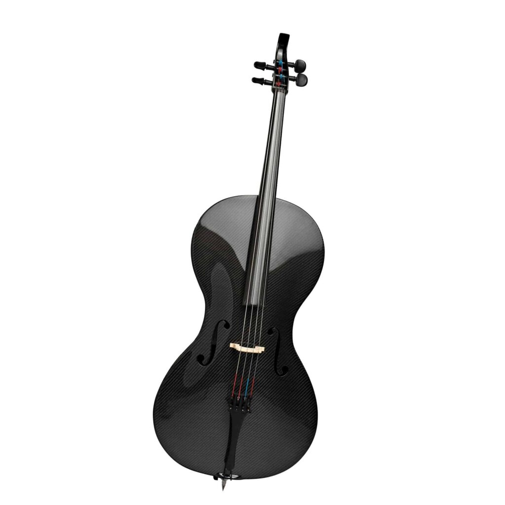 Black Carbon-Fiber Cello