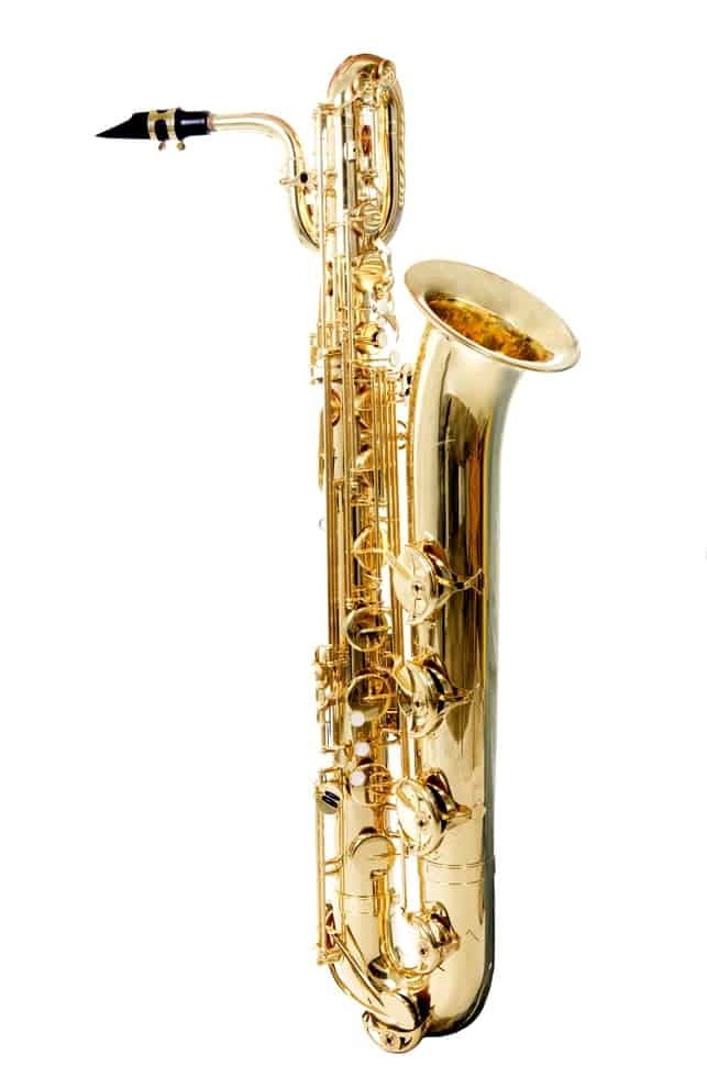 Bright bass baritone saxophone