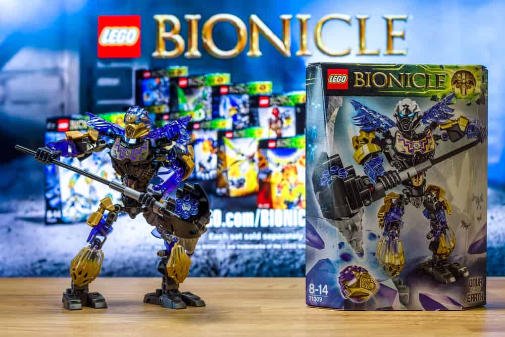 Character universe of Lego Bionicle
