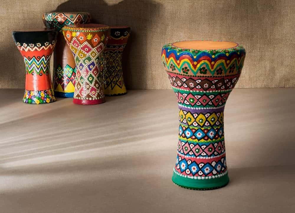 Goblet drums