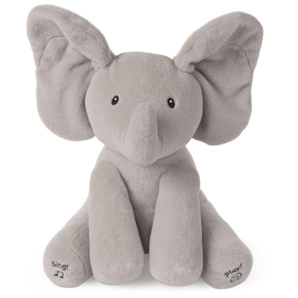 This is the animated Flappy the Elephant doll from Gund.