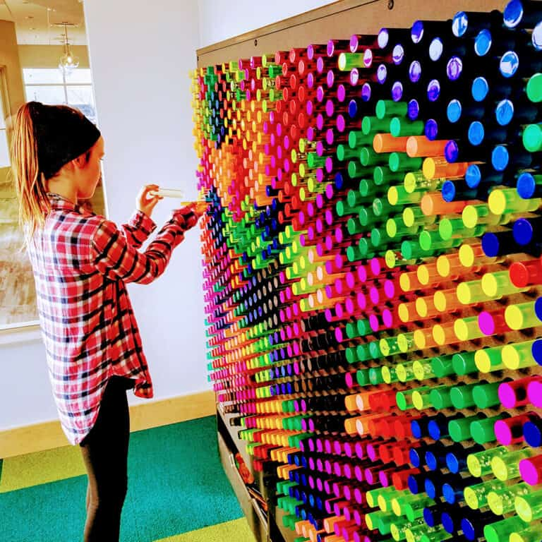 This is the LiteZilla giant light wall.