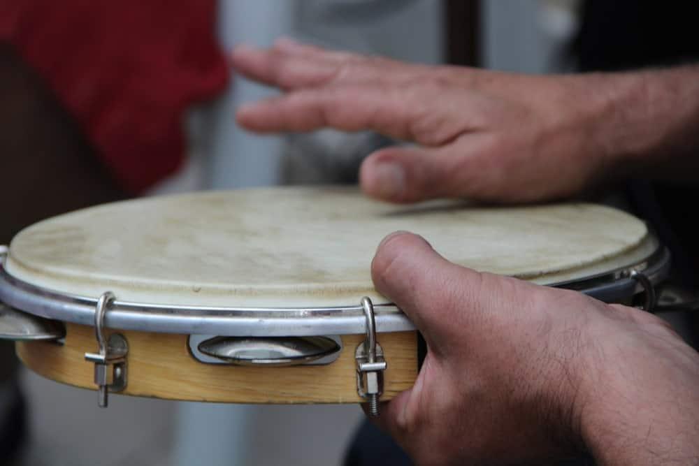 Pandeiro drums