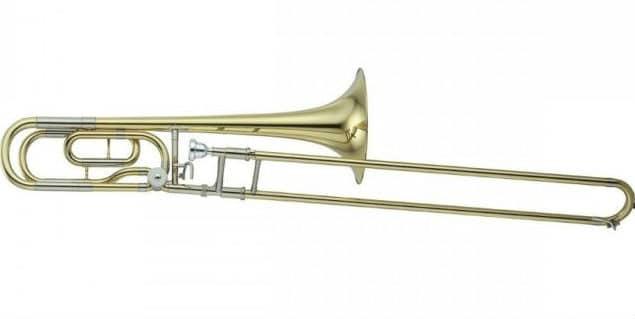 Yamaha Tenor Bass Trombone Ysl-620 YSL620 Gold Lacquer Finish Professional