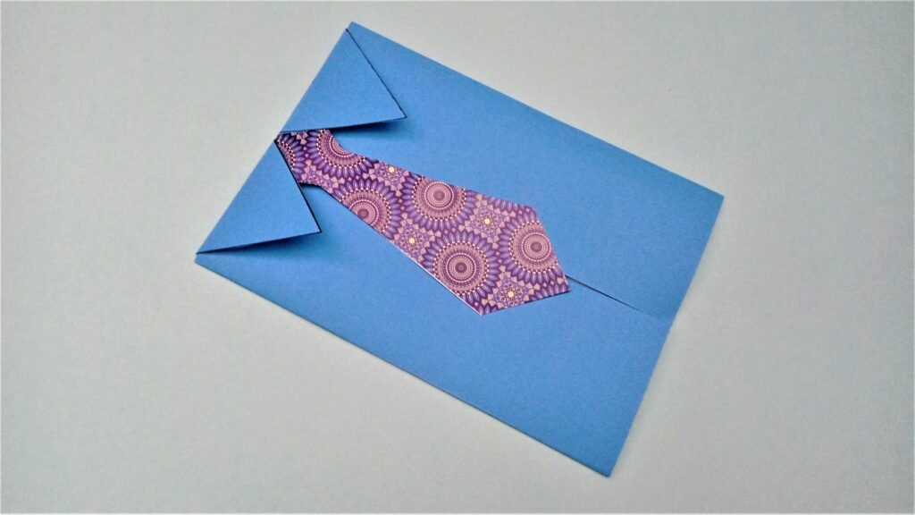 How to craft a fathers day card
