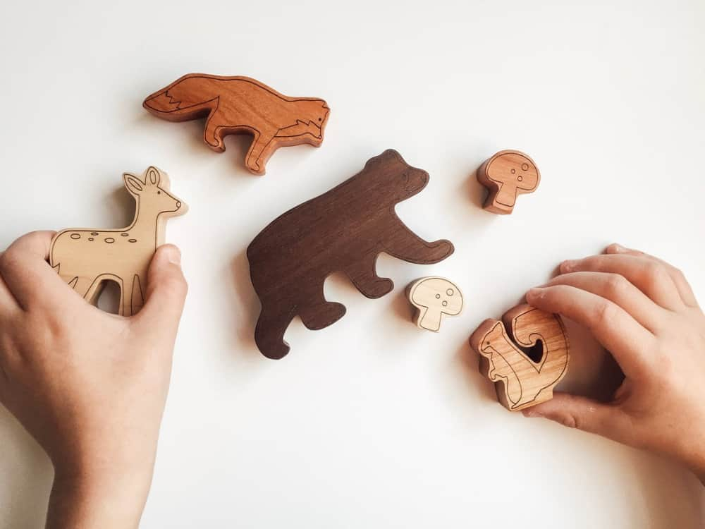 Wood Toy - Woodland Collection