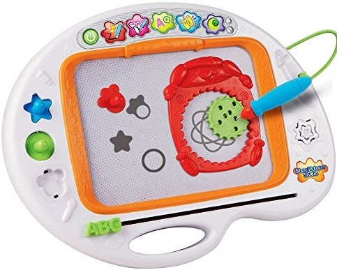 This is the VTech Stencil and Learn Studio from Walmart.