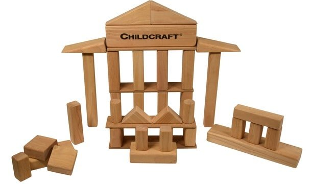This is the Childcraft Standard Unit Block Set from School Specialty.