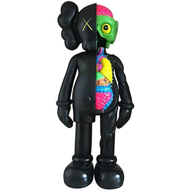 The Windayt 8 20Cm Prototype Kaws Original Dissected Companion Model Art Toys Action Figure from Walmart.