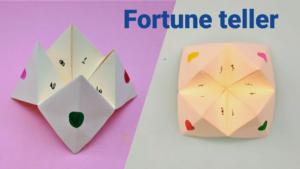 Paper Fortune Teller Craft