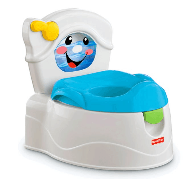 The Learn-to-Flush Potty from Fisher-Price.