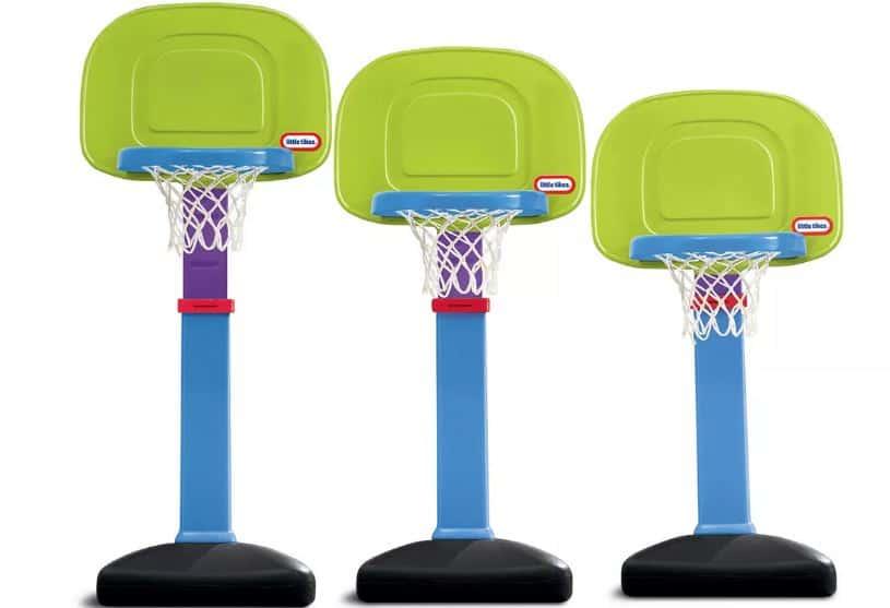The Little Tikes Easy Score Basketball Hoop Set from Kohl's.