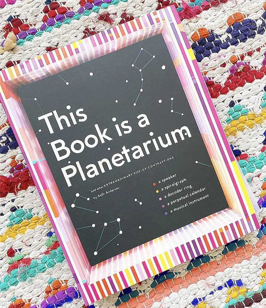 This Book Is a Planetarium: And Other Extraordinary Pop-Up Contraptions (Popup Book for Kids and Adults, Interactive Planetarium Book, Cool Books for Adults) from Brave and Kind Books.