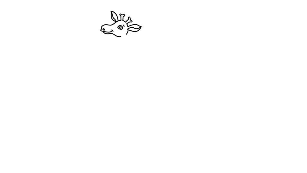 Step 3 To Draw A Giraffe