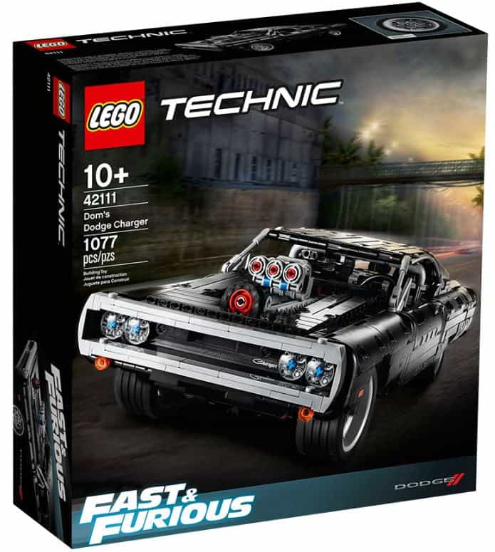 LEGO Technic - Dom's Dodge Charger from Fat Brain Toys.