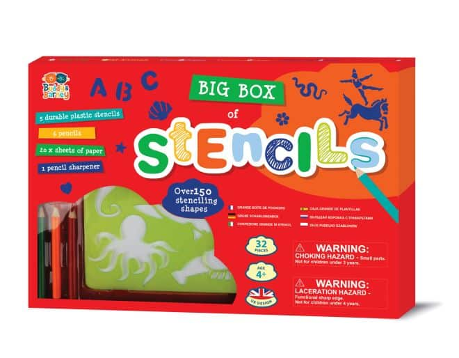 Big Box of Stencils - Over 150 stenciling shapes