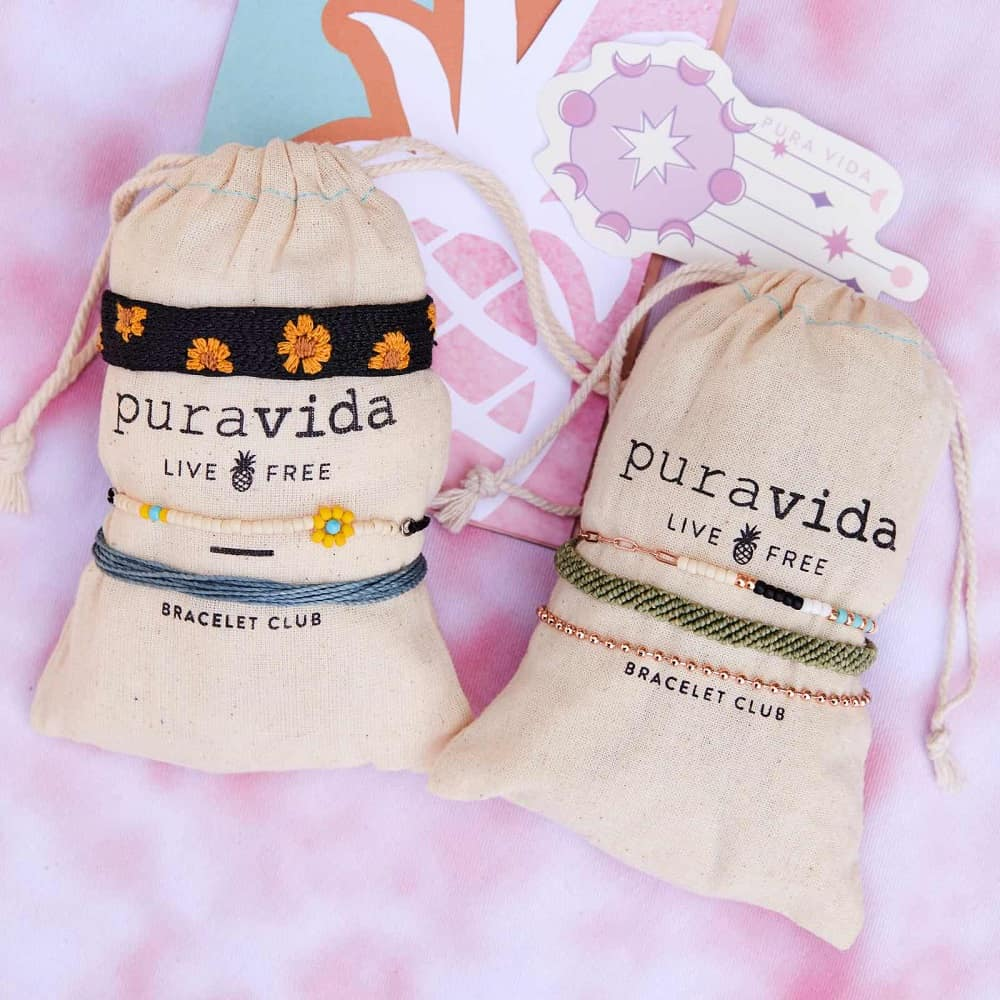 This is the Pura Vida Bracelet Club from Pura Vida Bracelets.
