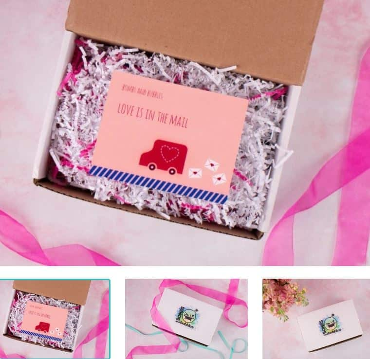This is the Bomb and Bubbles box subscription from Cratejoy.